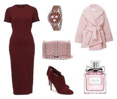 Монохром by shkolashopinga on Polyvore featuring polyvore мода style Carven Jimmy Choo Christian Dior Rebecca Minkoff fashion clothing