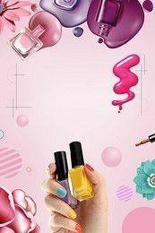 icu ~ Nail Nail Polish Creative Posters in 2019 Nail Salon Design, Nail Salon Decor, Gel Uv Nails, Pink Nails, Manicure Y Pedicure, Nail Spa, Nail Nail, Manicure Ideas, Makeup Illustration