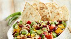 Kurczak po meksykańsku #lidl #przepis #kurczak Lidl, Chili, Main Dishes, Favorite Recipes, Bread, Chicken, Dinner, Cooking, Ethnic Recipes