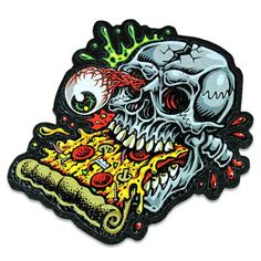 Discover the Streetwear brands you love, and discover the new drip you didn't even know about yet. Skateboard Deck Art, Marvel Comics, Pizza, Skull, Skateboarding, Artist, Products, Skateboard, Skateboards