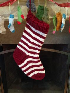 This stocking knits up so quickly that you could make one, two or maybe more for the holidays this year. I was inspired by my friend James - aka KiwiKiltedKnitter - who gifted me a set of his JOY Mini Christmas Stockings. They're so cute that I wanted to Jumbo-size them.