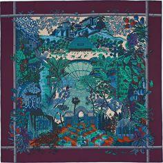 Carré 90 x 90 cm Hermès | Jardins d'Hiver