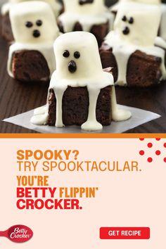 Halloween Desserts, Halloween Goodies, Halloween Food For Party, Halloween Games, Easy Halloween, Yummy Treats, Sweet Treats, Yummy Food, Fall Treats