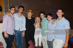 Guest, David Levine, Darrell Hammond, Caleigh Aviv, Harrison Mack, Logan Geller and William Gram attend The Younger Leadership Team of Facing Addiction Hosts a Tribute to Lost Laughs at Sag Harbor Cinema on August 19, 2016 in Sag Harbor, NY.