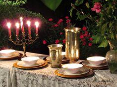 Outdoor fancy table
