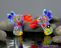 jasmin french ' below the surface... ' lampwork by jasminfrench