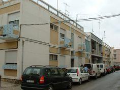 Architect Manuel Gomes da Costa - Vila Real de Santo Antonio Costa, Algarve, San Antonio, Portugal, Portuguese, Modern Architecture, Street View, Modernism