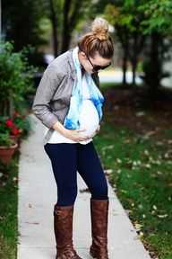 Bumps, buns and boots. - borrow for your bump