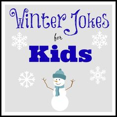 Winter Jokes for Kids #winter #jokes #kids