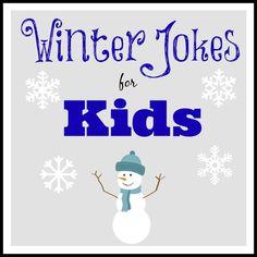 Winter Jokes for Kids #winter #jokes #kids