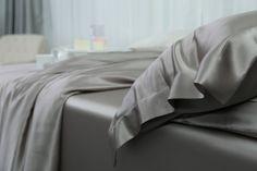 Ultimate Luxury Silver Grey Silk Pillow Sham Silk Bedding, Silk Pillow, Pillow Shams, Pillows, Pillowcases, Luxury, Grey, Silver, Shopping