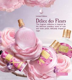 Loccitane Wedding Gift : Occitane en Provence Roses et Reines ~ New Fragrances Me encanta ...