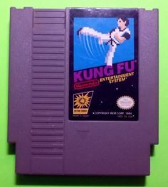 KUNG FU - the first NES nintendo entertainment system game that I owned!