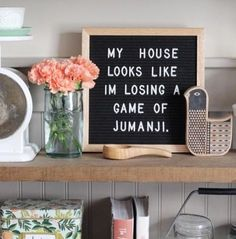 You can use your letter board to display a funny quote and bring personality to your home. Here are the best funny letterboard quotes! Word Board, Quote Board, Message Board, Quote Wall, Felt Letter Board, Felt Letters, Felt Boards, The Words, Home Poster