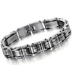 Encontrar Más Pulseras Cuff Información acerca de Acero inoxidable 316L joyas…