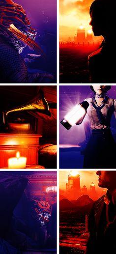 Bioshock Infinite → Purple + Orange #bioshock #infinite