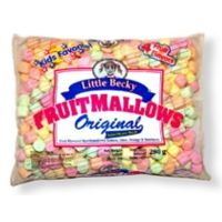 LITTLE BECKY MARSHMALLOWS FRUIT MINI | My American Market