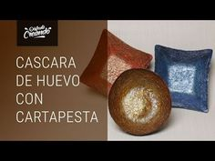 YouTube Decoupage, Easy Diy Crafts, Letterhead, Egg Shells, Paper Mache, Decorative Plates, Pottery, Youtube, Eggshell