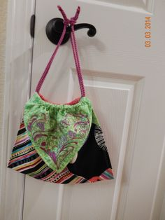 embroided purse