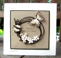 Love this card...every card Birgit posts is a mini-work-of-art...