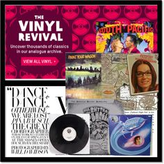 """Oxfam Vinyl"" by kellyoc6 on Polyvore"