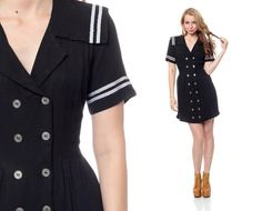 Hey, I found this really awesome Etsy listing at http://www.etsy.com/listing/152407215/sailor-dress-80s-mini-nautical-collar