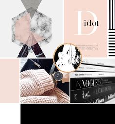 Styled & Simplified // Custom Design for the Modern Entrepreneur  IDEAL CLIENT/BRAND: ​Motivated professionals who are dedicated to creating a friendly, classic and strong brand.  OUR OBJECTIVE: To bring cheerful optimism to each client. Offer attention to details & streamlined services.  STYLE INSPIRATION: Graphic Sensibility with a Fashionable Edge.  COLOR INSPIRATION: Sophisticated color palette - white, blush, black. With modern accents - rose gold foil, black & white stripes & marble