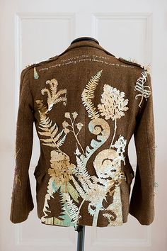 RECENT STITCHED GARMENT - 'Waulking jacket'   rosalind wyatt