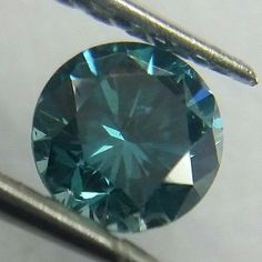 Natural 0.04 ct VVS2 Fancy Greenish Blue Color Round Cut Loose Diamond.. USD 27.0