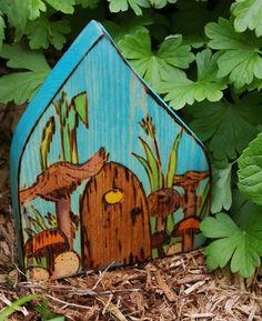 Fairy Door by Beneath the Rowan Tree