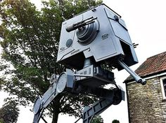 "A nearly life-size AT-ST Walker could be the crowning glory for your ""Star Wars"" collection."