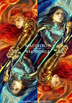 Maedhros & Fingolfin
