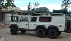 and - Defender Landrover Defender, Land Rover Defender 110, 6x6 Truck, Truck Camper, Land Rovers, Land Cruiser, Off Road Camping, Best 4x4, Adventure Campers