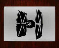 Star wars Starfighter Macbook Pro / Air 13 Decal Stickers Starwars
