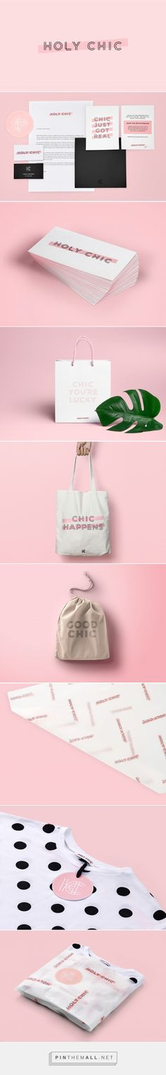 Holy Chic Streetwear Fashion Branding by Hannah Dollery | Fivestar Branding Agency – Design and Branding Agency & Curated Inspiration Gallery #branding #brand #fashionbrand #design #designinspiration