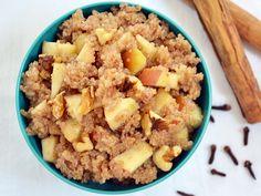 Apple Nut Quinoa (vegan)