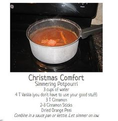 ~This simmering potpourri will have your whole house filled with the smell of Christmas. It's better than any candle! Dried Orange Peel, Simmering Potpourri, Farm Store, Home Scents, All Things Christmas, Home Remedies, Holiday Fun, Candles, Holidays