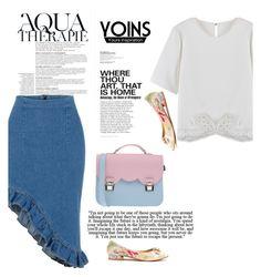 """Yoins 3 /10"" by nejra-l ❤ liked on Polyvore featuring moda, Anja e La Cartella"