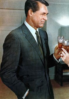 Cary Grant in North by Northwest. The 10 Best Suits on Film