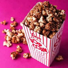 Crunchy popcorn is coated with Nutella® in this perfect movie snack recipe developed exclusively for TT by Nitehawk Cinema in Brooklyn, New York.