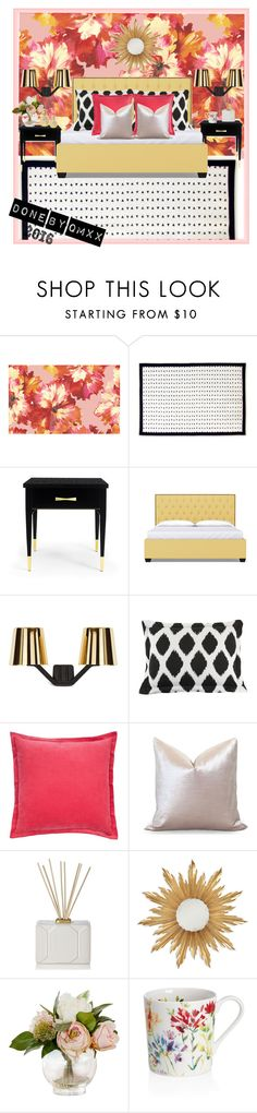 """""""FL2016"""" by qqamrah on Polyvore featuring interior, interiors, interior design, home, home decor, interior decorating, Kate Spade, Tom Dixon, Josephine Home and Nest Fragrances"""