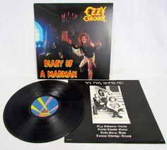 Ozzy Ozbourne (Black Sabbath) Diary Of A Madman LP Orig Lyric Inner Jet Stereo…