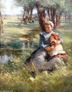 'Un après-midi Nap' de William Kay Blacklock (1872-1922)