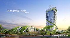 Las torres ecológicas de Ken Yeang - Monkeyzen