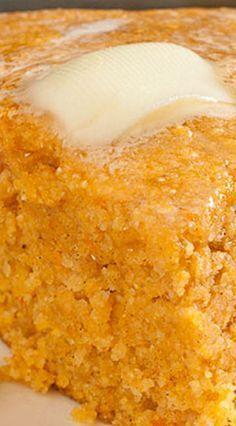 Sweet Potato Cornbread