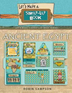 Christian Homeschool Books: Ancient Egypt Scrap-Lap Book Kit