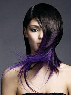 Super Black Over Chunks of Violet