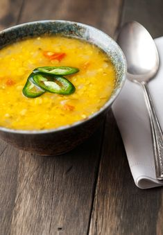 Dahl is kind of like an Indian gravy. My family usually makes it using garbanzo beans or lentils, using various peppers and spices to give it a delicious spicy flavor. It is regularly eaten with rice, roti, or vegetables. But we also eat it with curry...