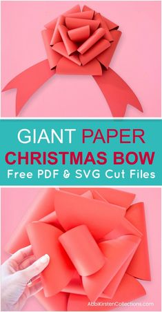 Free Christmas Bow T