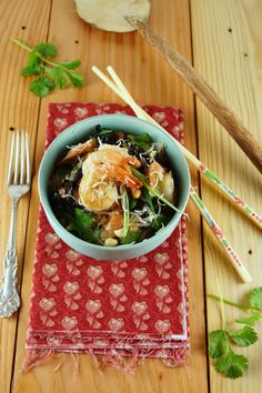 Shrimp and Rice Noodles for French Fridays / Patty's Food